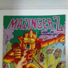 Tebeos: MAZINGER-Z EL ROBOT DE LAS ESTRELLAS Nº 2 EDITORIAL VALENCIANA. Lote 146934930