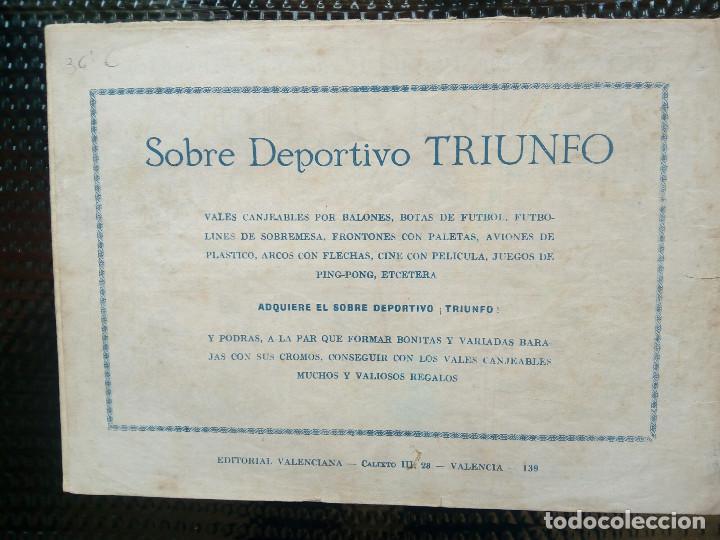 Tebeos: COMIC ALMANAQUE 1955 - EL ESPADACHIN ENMASCARADO - ORIGINAL - EDT. VALENCIANA (M-1) - Foto 2 - 116228235