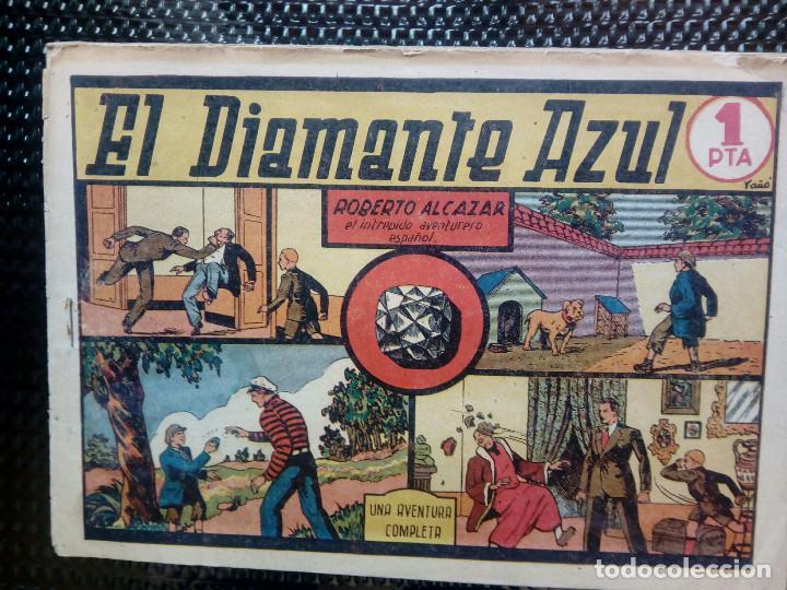 COMIC ROBERTO ALCAZAR Nº 24 - ORIGINAL - EDT,VALENCIANA 1949 ( M-1) (Tebeos y Comics - Valenciana - Otros)