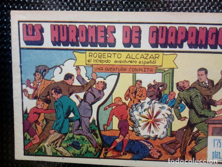 COMIC ROBERTO ALCAZAR Nº 72 - ORIGINAL - EDT,VALENCIANA 1958 ( M-1) (Tebeos y Comics - Valenciana - Otros)