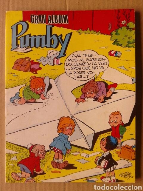 GRAN ÁLBUM PUMBY 1178-1182-1180. EDITORA VALENCIANA, 1983. RETAPADO CON CUATRO NÚMEROS (Tebeos y Comics - Valenciana - Pumby)