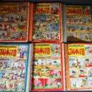 Tebeos: ORIGINAL SELECCIONES DE JAIMITO VALENCIANA, 1958. LOTE 66 EJEMPLARES DEL 85 AL 151 CORRELATIVOS !!. Lote 116520319
