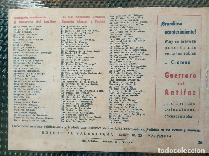 Tebeos: COMIC LA PANDILLA DE LOS SIETE Nº 26 - ORIGINAL - EDT. VALENCIANA (M-1) - Foto 2 - 116545499