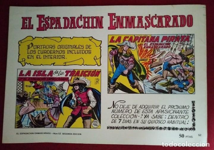EL ESPADACHÍN ENMASCARADO TRES NÚMEROS EN UNO - NÚMERO 52 LA DERROTA DEL TIGRE +2 - 116736183