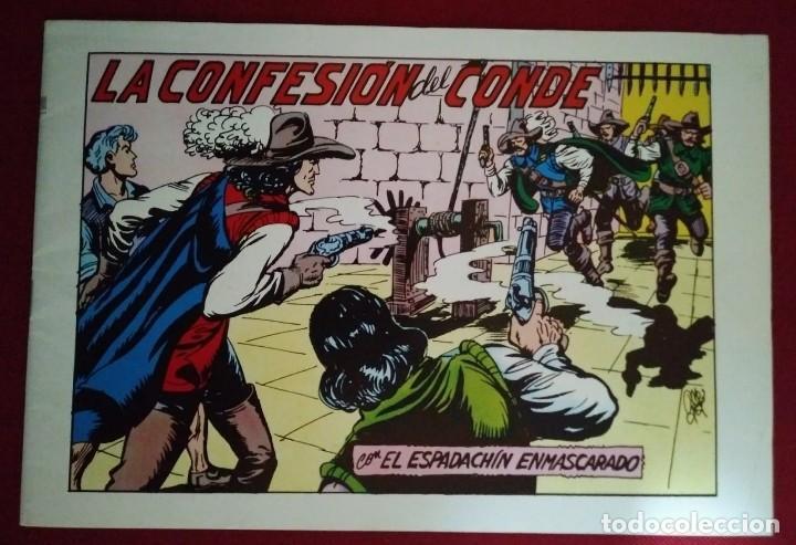 EL ESPADACHÍN ENMASCARADO TRES NÚMEROS EN UNO - NÚMERO 69 - LAS CONFESIONES DEL CONDE +2 (Tebeos y Comics - Valenciana - Espadachín Enmascarado)