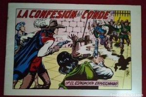 El espadachín enmascarado. Número 69. Las confesiones del conde