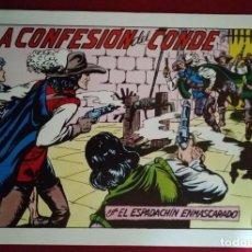 Tebeos: EL ESPADACHÍN ENMASCARADO TRES NÚMEROS EN UNO - NÚMERO 69 - LAS CONFESIONES DEL CONDE +2. Lote 116736211