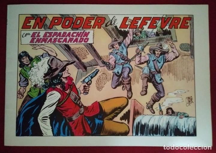 EL ESPADACHÍN ENMASCARADO TRES NÚMEROS EN UNO - NÚMERO 72 - EL PODER DE LEFEVRE +2 (Tebeos y Comics - Valenciana - Espadachín Enmascarado)