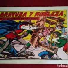 Tebeos: EL ESPADACHÍN ENMASCARADO TRES NÚMEROS EN UNO - NÚMERO 58 - BRAVURA Y NOBLEZA +2. Lote 116736267
