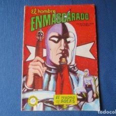 Tebeos: EL HOMBRE ENMASCARADO N.º 34 - EDITORA VALENCIANA 1981 - COLOSOS DEL CÓMIC N.º 226 - RARO. Lote 117008167