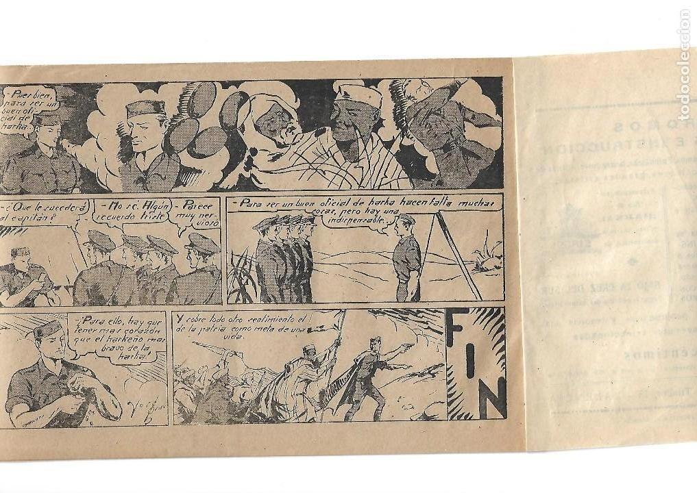 Tebeos: Selección Aventurera, Año 1.941. Nº 19. Harka, es Original y muy dificil Editorial Valenciana. - Foto 2 - 117008879
