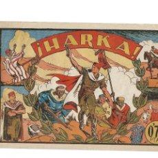 Tebeos: SELECCIÓN AVENTURERA, AÑO 1.941. Nº 19. HARKA, ES ORIGINAL Y MUY DIFICIL EDITORIAL VALENCIANA.. Lote 117008879
