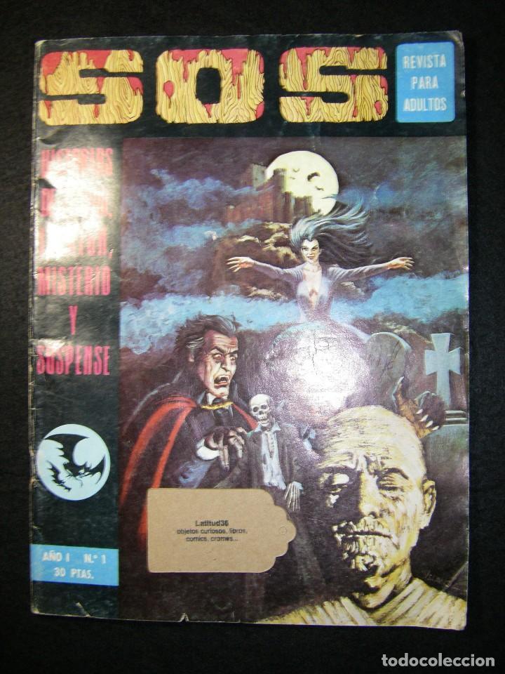 S.O.S. AÑO 1 Nº 1 (Tebeos y Comics - Valenciana - S.O.S)