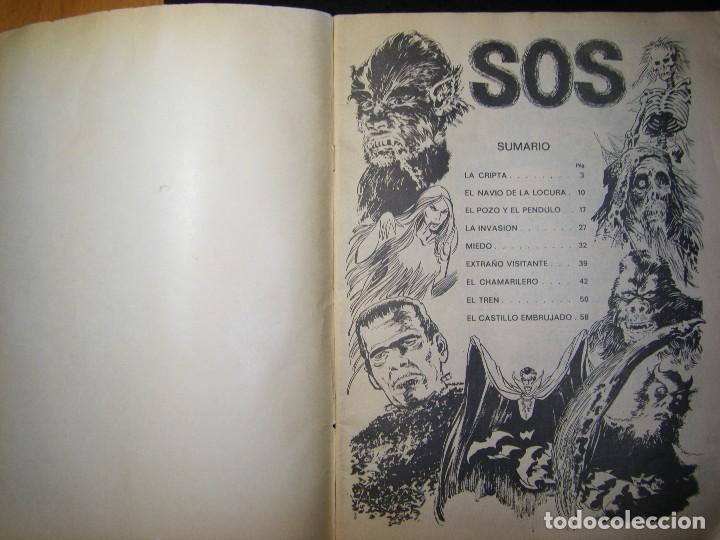 Tebeos: s.o.s. año 1 nº 1 - Foto 7 - 117012015