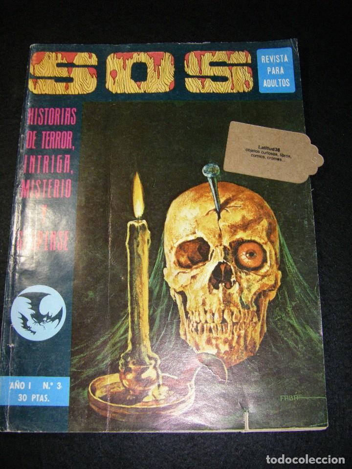 S.O.S. AÑO 1 Nº 3 (Tebeos y Comics - Valenciana - S.O.S)