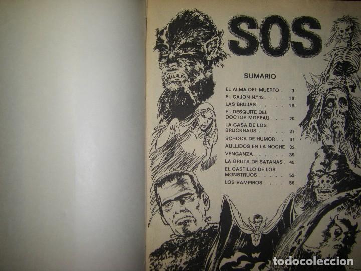 Tebeos: s.o.s. año 1 nº 3 - Foto 4 - 117012823