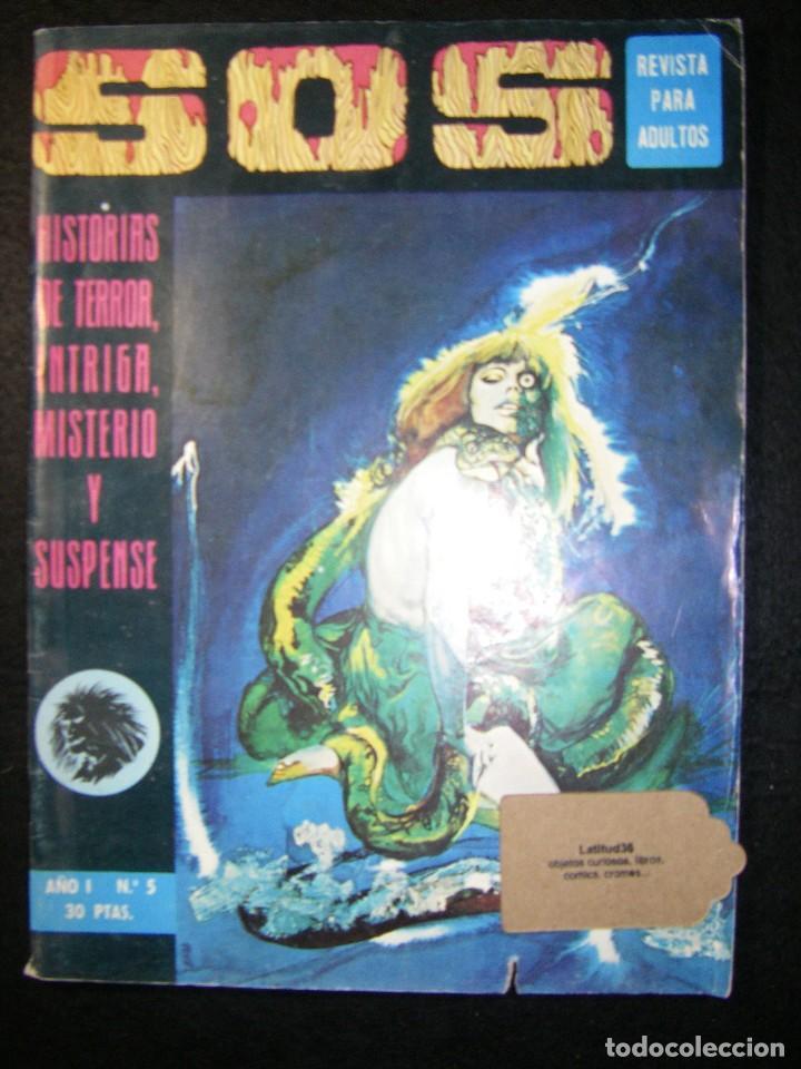 S.O.S. AÑO 1 Nº 5 (Tebeos y Comics - Valenciana - S.O.S)