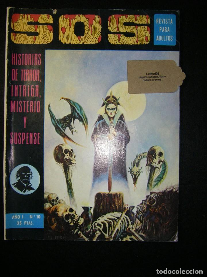 S.O.S. AÑO 1 Nº 10 (Tebeos y Comics - Valenciana - S.O.S)