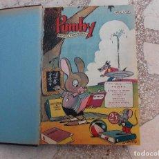 Tebeos: PUMBY ,REVISTA PARA TODOS ,22 TEBEOS ENCUADERNADOS, EN UN TOMO,1958, Nº 69,200,241,245,249,. Lote 117186335