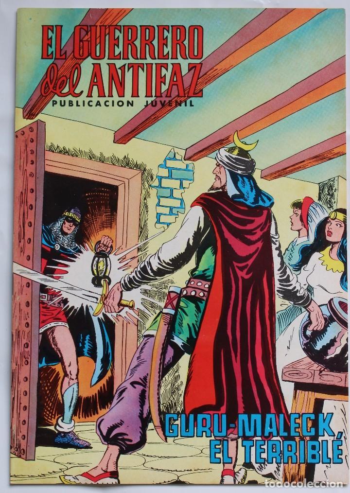 EL GUERRERO DEL ANTIFAZ Nº 192- GURU- MALECK EL TERRIBLÉ 1976 (Tebeos y Comics - Valenciana - Guerrero del Antifaz)