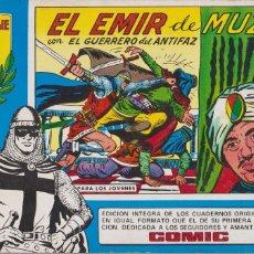 Tebeos: EL GUERRERO DEL ANTIFAZ.EL EMIR DE MUZA.VALENCIANA 1982.HOMENAJE A GAGO. Lote 117314383