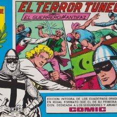 Tebeos: EL GUERRERO DEL ANTIFAZ EL TERROR TUNECINO.VALENCIANA 1981.HOMENAJE A GAGO 18. Lote 117314827