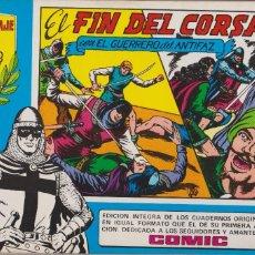 Tebeos: EL GUERRERO DEL ANTIFAZ EL FIN DEL CORSARIO.VALENCIANA 1981.HOMENAJE A GAGO 17. Lote 117315015