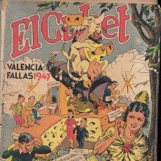 Tebeos: EL CUHET Nº 3 FALLAS VALENCIA 1947 (EDITORIAL VALENCIANA). Lote 117464243