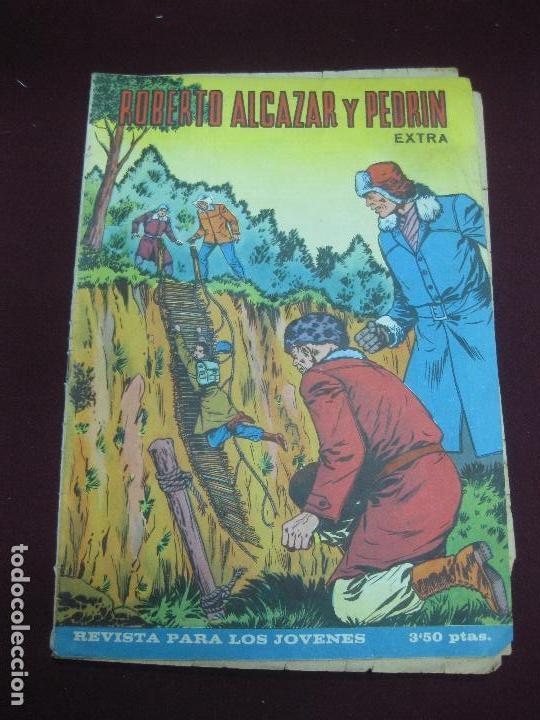 ROBERTO ALCAZAR Y PEDRIN EXTRA Nº 16. EDITORIAL VALENCIANA 1966. (Tebeos y Comics - Valenciana - Roberto Alcázar y Pedrín)