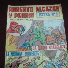 Tebeos: ROBERTO ALCAZAR Y PEDRIN. EXTRA Nº 3. EDITORIAL VALENCIANA 1976.. Lote 117526811