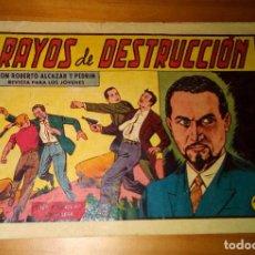 Tebeos: ORIGINAL - ROBERTO ALCAZAR Y PEDRÍN - NUMERO 419: RAYOS DE DESTRUCCIÓN. Lote 117758047