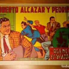 Livros de Banda Desenhada: ORIGINAL - ROBERTO ALCAZAR Y PEDRÍN - NUMERO 633: AGENCIA DE ESTAFADORES - BUEN ESTADO. Lote 117844699