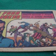 Tebeos: ROBERTO ALCAZAR Y PEDRIN EL HOMBRE DIABOLICO 106 LA FUGA DE BAKER CJ 22. Lote 118113447