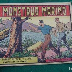 Tebeos: ROBERTO ALCAZAR Y PEDRIN 380 EL MONSTRUO MARINO CJ 22. Lote 118114215