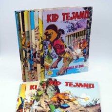 Tebeos: COLOSOS DEL COMIC KID TEJANO. LOTE DE 15 NºS (NO ACREDITADO) VALENCIANA, 1982. OFRT. Lote 267711274