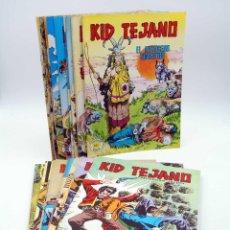 Tebeos: COLOSOS DEL COMIC KID TEJANO. LOTE DE 24 NºS (4, 8, 12-14 Y 16-34) VALENCIANA, 1982. ORIGINAL. OFRT. Lote 195445918