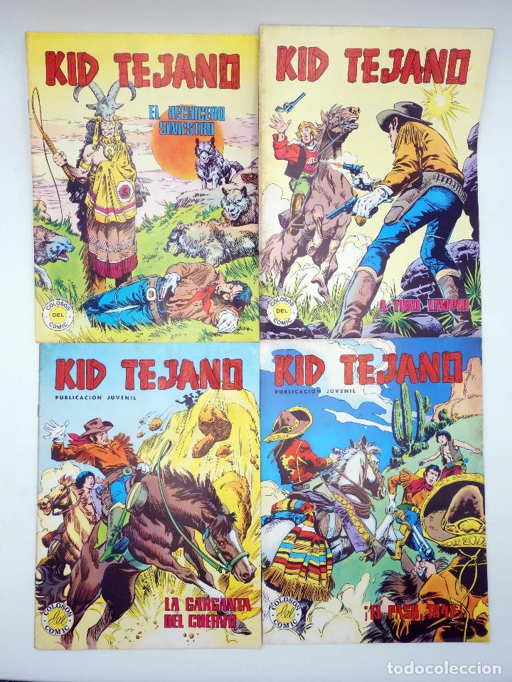 Tebeos: COLOSOS DEL COMIC KID TEJANO. LOTE DE 24 NºS (No Acreditado) Valenciana, 1982. OFRT - Foto 2 - 195445918