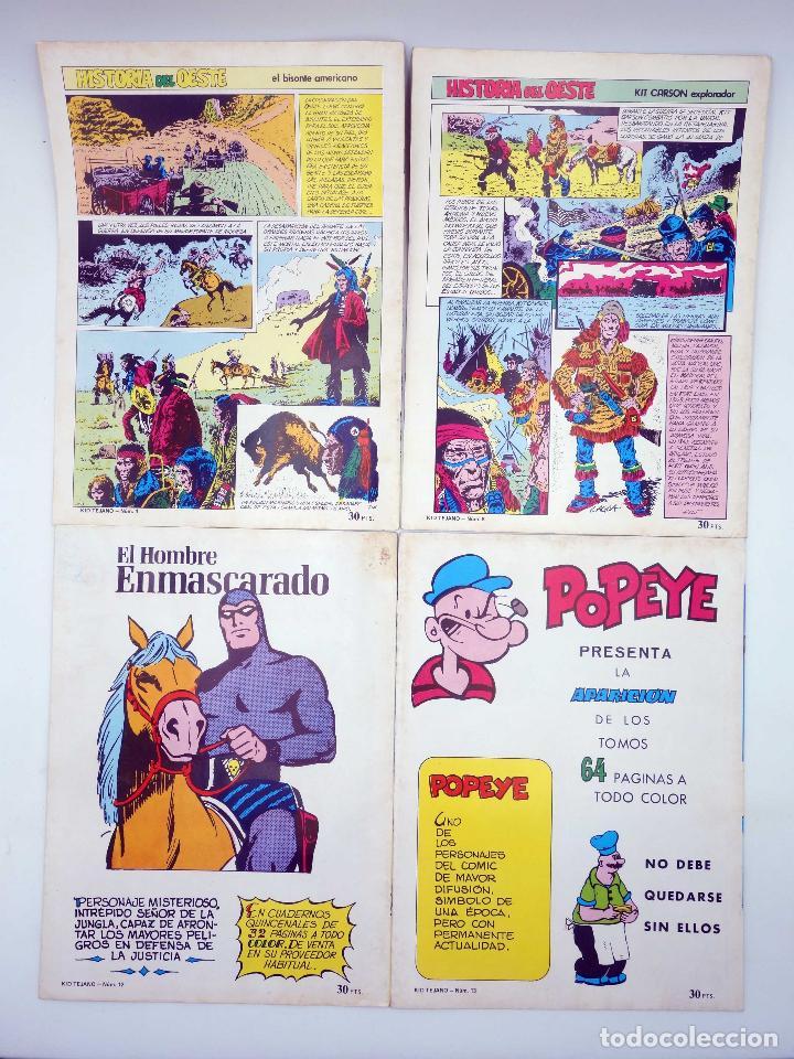 Tebeos: COLOSOS DEL COMIC KID TEJANO. LOTE DE 24 NºS (No Acreditado) Valenciana, 1982. OFRT - Foto 3 - 195445918