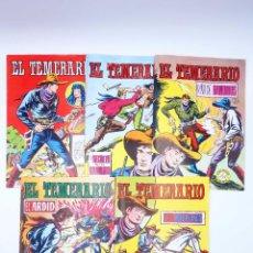 Tebeos: COLOSOS DEL COMIC. EL TEMERARIO 1 2 4 6 9. LOTE DE 5 (GAGO) VALENCIANA, 1981. OFRT. Lote 247789655