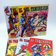 Tebeos: COLOSOS DEL COMIC. EL TEMERARIO. 1 2 4 6 8 9 10 LOTE DE 7 (GAGO) VALENCIANA, 1981. ORIGINAL. OFRT. Lote 178673255