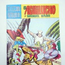 Tebeos: SELECCIÓN AVENTURERA 210. EL AGUILUCHO 29. ACECHANDO EN LA NOCHE (GAGO) VALENCIANA, 1981. ORIGINAL. Lote 118172946