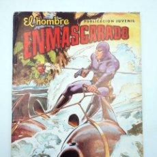 Tebeos: EL HOMBRE ENMASCARADO 46. LA GUERRA DEL PESCADO. VALENCIANA, 1981. ORIGINAL. OFRT. Lote 130924668