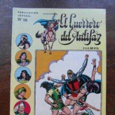 Tebeos: EL GUERRERO DEL ANTIFAZ Nº 18. JOSE GRAU KING FORCE. SERIE INEDITA. EDITORIAL VALENCIANA. 1984. Lote 118204523