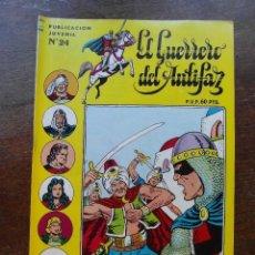 Tebeos: EL GUERRERO DEL ANTIFAZ Nº 24. EDITORIAL VALENCIANA. DICK TURPIN. Lote 118229731
