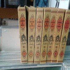 Tebeos: EL GUERRERO DEL ANTIFAZ 7 TOMOS 1- 2- 3- 4 -5-6-7 AÑO 1973 EDITORIAL VALENCIANA. Lote 118234047