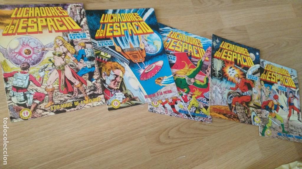 LUCHADORES DEL ESPACIO, Nº 70,72,79,99,102, AÑO 1978 (Tebeos y Comics - Valenciana - Otros)