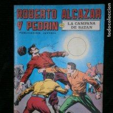 Tebeos: F1 ROBERTO ALCAZAR Y PEDRIN EN LA CAMPANA DE SATAN Nº 36 PUBLICACION JUVENIL 1976. Lote 118475283