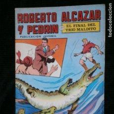 Tebeos: F1 ROBERTO ALCAZAR Y PEDRIN EN EL FINAL DEL TRIO MALDITO Nº 18 PUBLICACION JUVENIL 1976. Lote 118521343