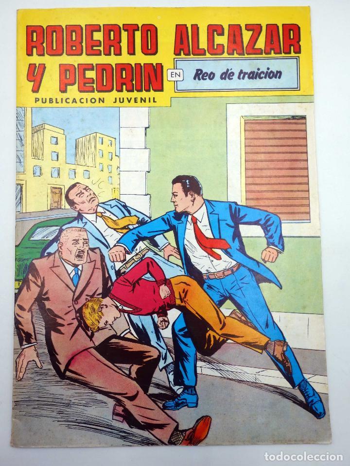 ROBERTO ALCÁZAR Y PEDRÍN 2ª EPOCA 238. REO DE TRAICIÓN VALENCIANA, 1980 (Tebeos y Comics - Valenciana - Roberto Alcázar y Pedrín)