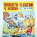 Tebeos: ROBERTO ALCÁZAR Y PEDRÍN EXTRA 59. EL FETICHERO / DOBLE CAPTURA VALENCIANA, 1979. Lote 160175097